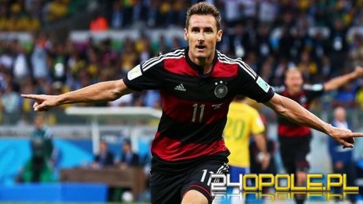 Miroslav Klose najlepszym strzelcem w historii Mistrzostw Świata