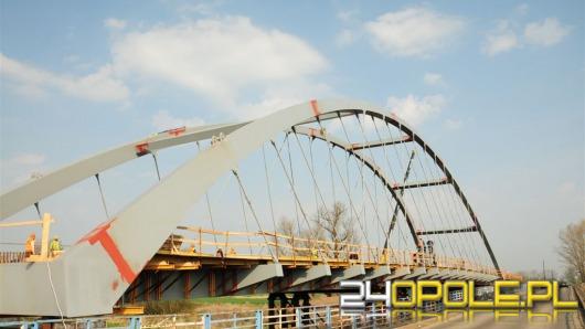 Most łączący Cisek i Bierawę na ukończeniu