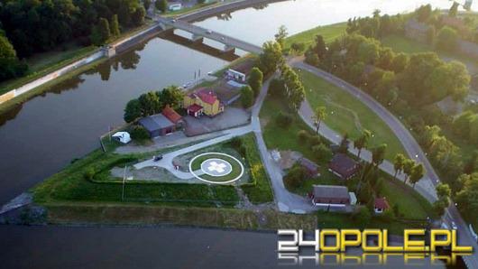 W Kędzierzynie-Koźlu powstało lądowisko dla śmigłowców LPR