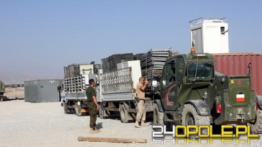 Opolscy żołnierze przekazali wyposażenie mieszkańcom Afganistanu