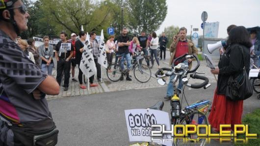 Protest na Bolko: Wyspę kochamy! Na drogę nie oddamy!