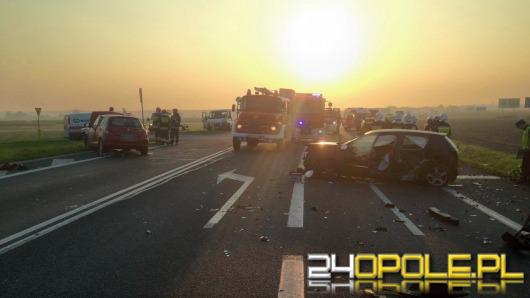 Cztery osoby ranne po wypadku we Wrzoskach