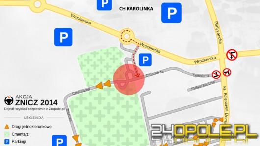 Zobacz, jak dojechać na cmentarz w Opolu-Półwsi