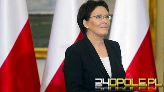 Premier Ewa Kopacz przyjedzie na Opolszczyznę