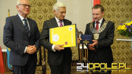 Hans-Gert Pöttering i Jerzy Buzek Honorowymi Obywatelami Opola