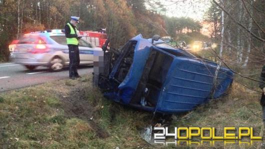 5 osób rannych po zderzeniu busa z sarną