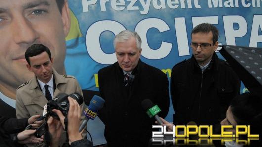 Jarosław Gowin o Ociepie: To czarny koń tych wyborów