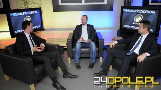 Za nami debata Ociepa-Wiśniewski. Zobacz wideo.