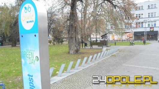 Trzeci sezon stacji rowerowych w Opolu zakończony