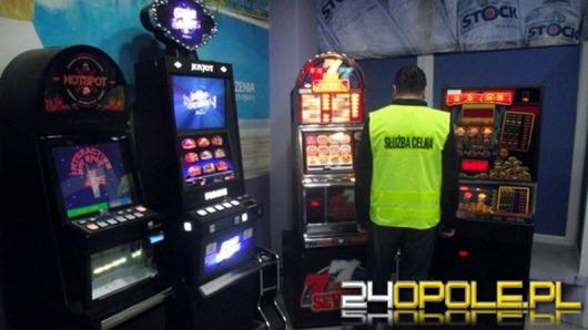 Celnicy zarekwirowali 31 nielegalnych automatów do gier