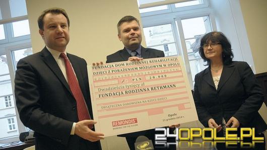 Remondis i ratusz pomagają fundacji państwa Jednorogów
