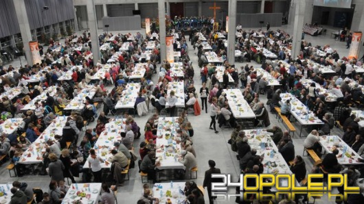 Największa wigilia Opolszczyzny w Centrum Wystawienniczo-Kongresowym