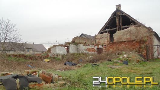 Zawaliła się ściana domu w Łukowicach Brzeskich