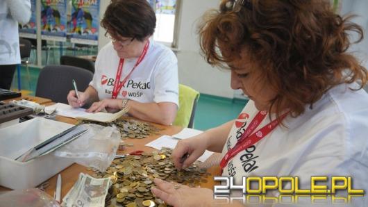 Trwa liczenie pieniędzy z opolskich puszek WOŚP