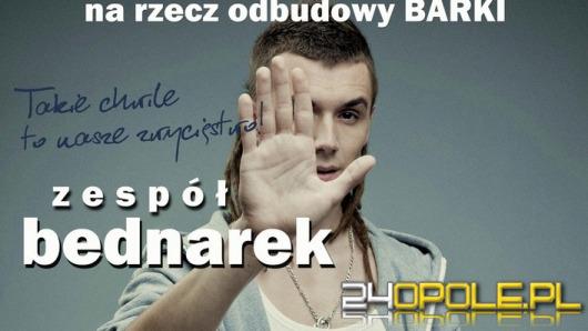 Kamil Bednarek zagra na rzecz odbudowy Barki