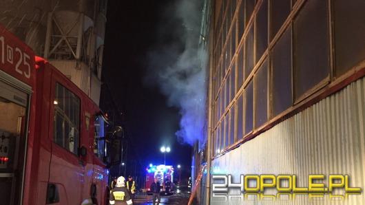 Pożar w hali magazynowej przy ul. Wschodniej
