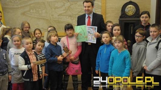 Dzieci z wizytą u prezydenta Opola