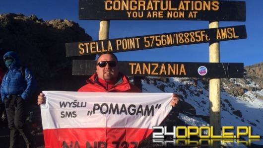 Adam Kępiński zdobył szczyt Kilimandżaro