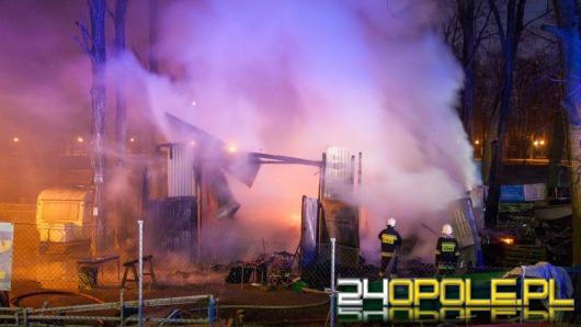 Miasto deklaruje pomoc po pożarze przystani kajakowej