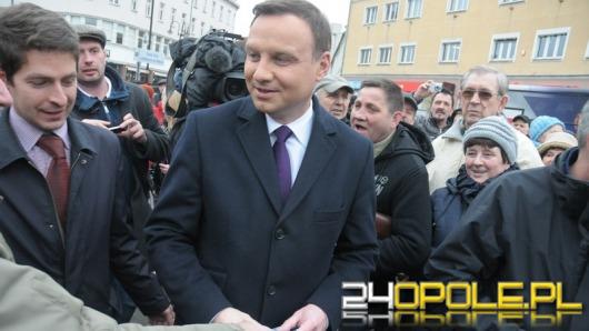 Andrzej Duda objeżdża Opolszczyznę