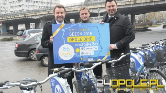 Od dziś znów można wypożyczać rowery miejskie
