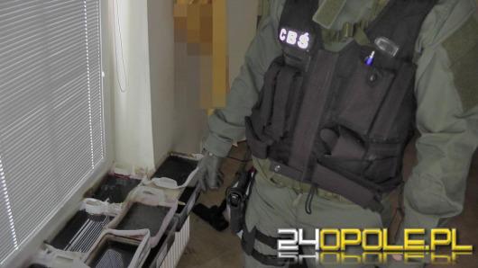Policjanci CBŚ zlikwidowali wytwórnię mefedronu