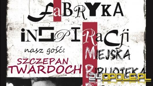 Szczepan Twardoch z najnowszą książką we wtorek w Opolu