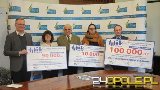 100 tysięcy zł od WiK dla organizacji pomagających innym