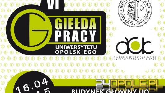 W czwartek VI Giełda Pracy na Uniwersytecie Opolskim