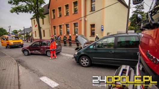 Wypadek na ul. Grudzickiej. Jedna osoba ranna.
