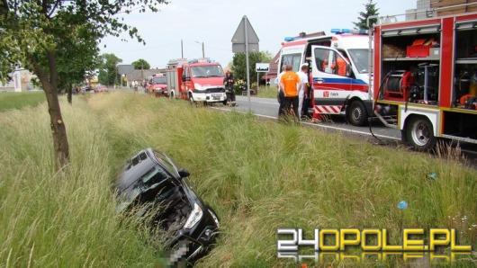 Wypadek podczas wyprzedzania na trasie Opole-Brzeg