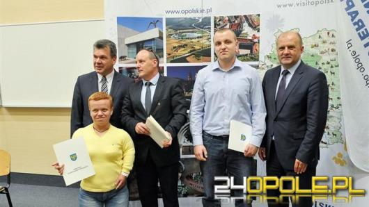 Marszałek nagrodził najlepszych sportowców i trenerów
