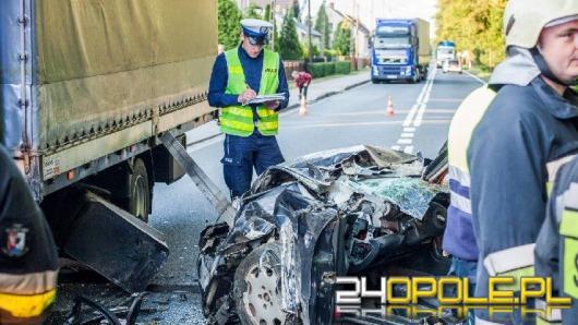 Kierowca zasłabł i spowodował wypadek