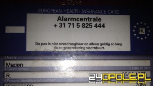 Opolski szpital nie chce leczyć pacjenta z holenderskim ubezpieczeniem?
