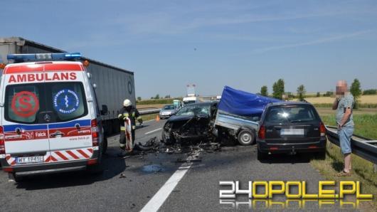 Tragiczny wypadek na remontowanym odcinku A4
