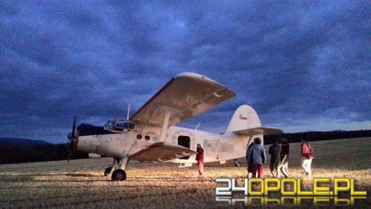 Czeski samolot lądował awaryjnie pod Głuchołazami