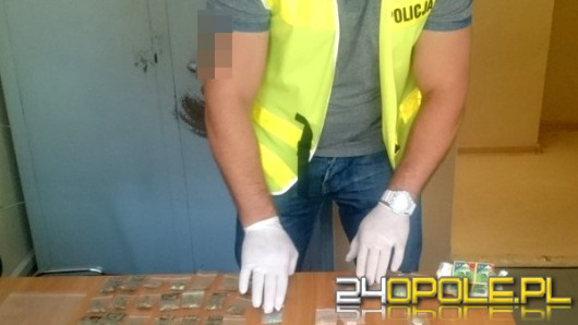 26-letni diler z Nysy wpadł z narkotykami
