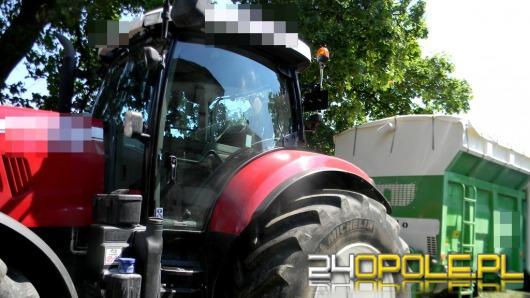 13-latek prowadził traktor, drugim jechał jego ojciec