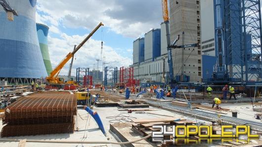 Rozbudowa Elektrowni Opole idzie zgodnie z planem