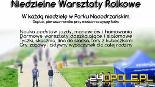 RoleOpole zaprasza na darmowe warsztaty rolkowe