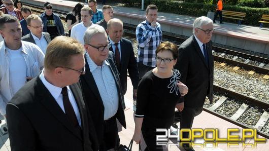 Premier Ewa Kopacz z wizytą na Opolszczyźnie