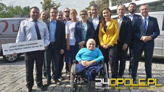 Bus Zjednoczonej Lewicy zawitał do Opola