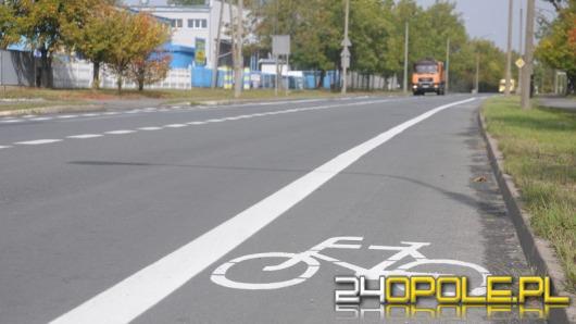 W Opolu powstały nowe ścieżki rowerowe