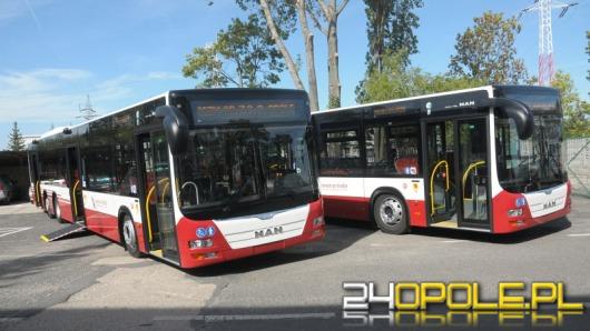 Trzy nowe autobusy wyjadą w październiku na ulice Opola