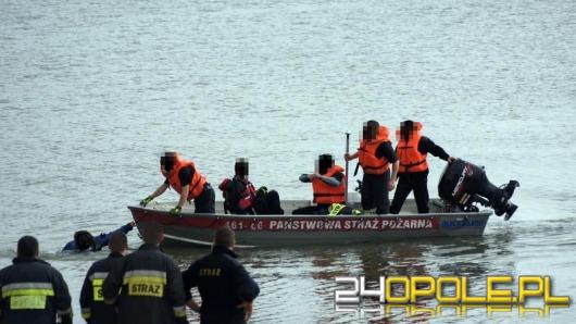 Akcja ratownicza na Jeziorze Nyskim