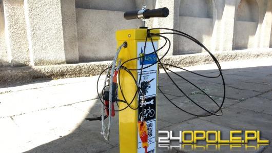 Samoobsługowa stacja do naprawy rowerów już działa