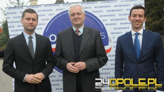 Jarosław Gowin w Opolu: Nasi kandydaci zadbają o region