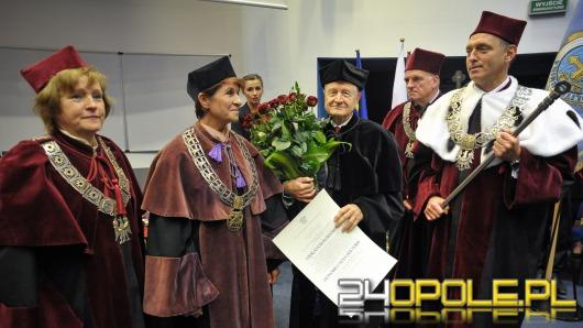 Wiesław Kurdowski doktorem honoris causa Politechniki Opolskiej