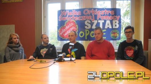 Opolski sztab WOŚP czeka na wolontariuszy