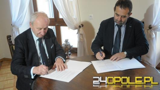 Uniwersytet Opolski podpisał umowę z Wojewódzkim Urzędem Pracy